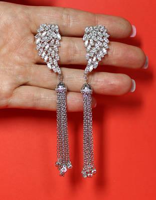 Сережки (срібло 925 проба)