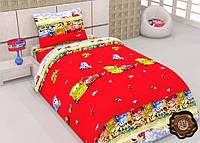 Комплект постельного белья для детей Тачки-друзяшки