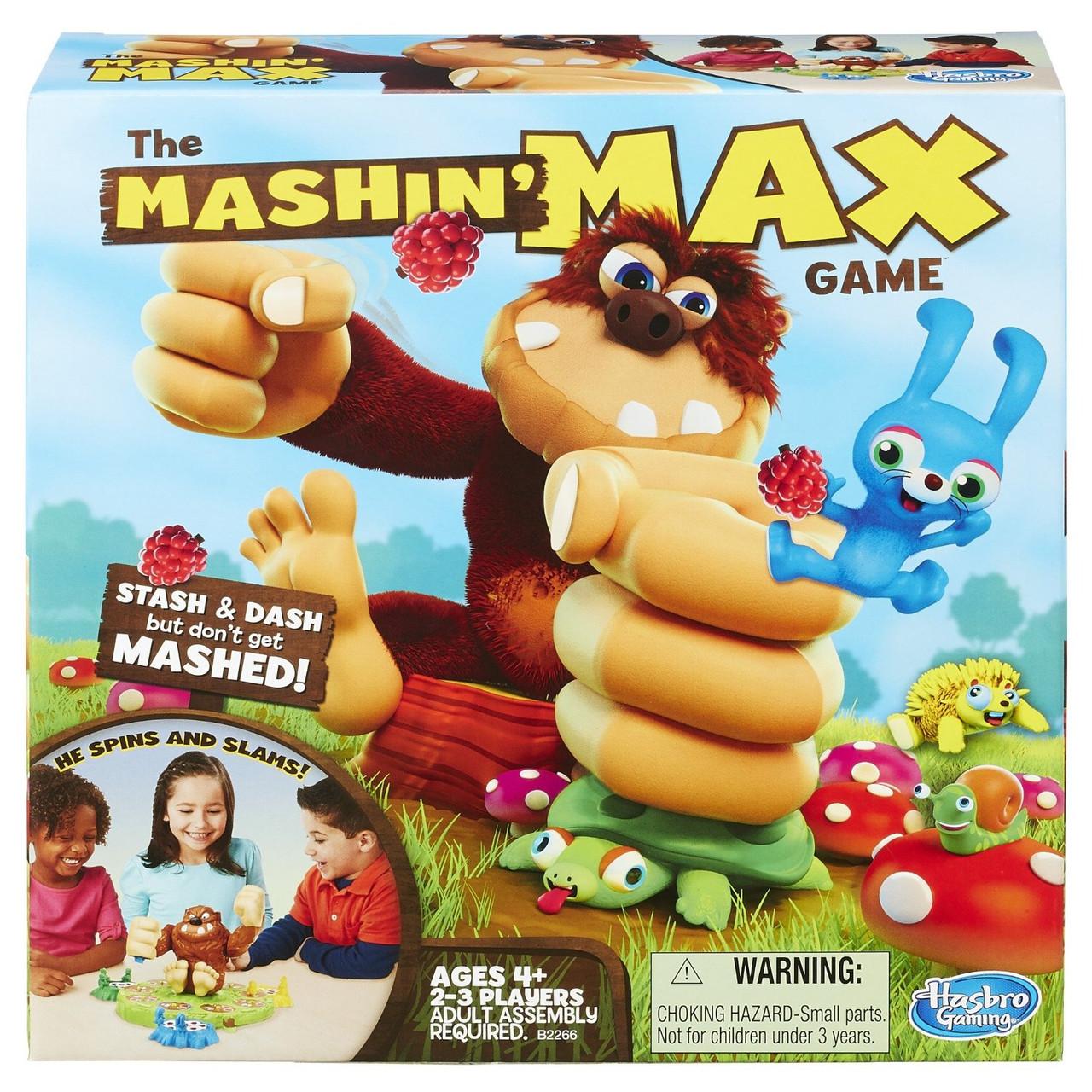 Настольная игра Машин Макс Поймай Макса интерактивная Games Mashin Max Hasbro