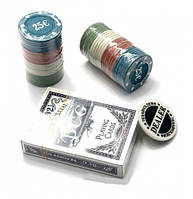 Покерный набор на 68 фишек