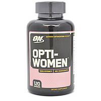"""Лучшие женские витамины Opti Women """"OPTINUM NUTRITION"""" 120 caps"""