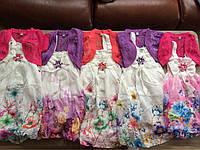 Яркие легкие сарафаны на лето  на девочку 3-7 лет