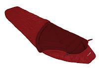 Спальный мешок Vaude Sioux 1000 Syn dark indian red левый (12124-6520-010)