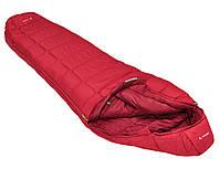 Спальный мешок Vaude Sioux 800 Syn dark indian red левый (12126-6520-010)