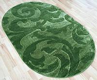 Турецкие ковры овальной формы зеленого цвета