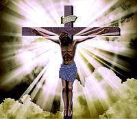 Схема для вышивания бисером Распятие Иисуса Христа КМР 3175