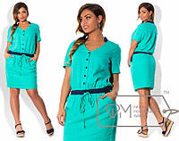 Легкое летнее платье,модель № X4190,размеры 50, 52, 54, 56