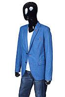 Новинка!Мужской джинсовый пиджак синего цвета.Стильно,модно,выгодно!