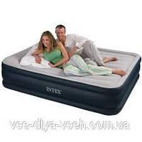 Надувная кровать Intex 67738 со встроенным електронасосом