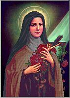 Схема для вышивания бисером Тереза младенца Иисуса КМР 3179
