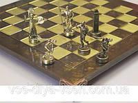 Шахматы Дискобол MANOPOULOS (Греція) из высококачественной бронзы и цинкового сплава отправка по всей Украине