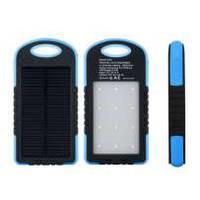 Влагоустойчивое солнечное зарядное устройство Solar A50 30000mah солнечная батарея + сверхяркая 12 LED панель, фото 1