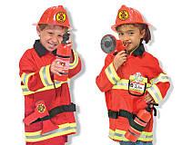 Детский карнавальный костюм пожарника Melissa&Doug