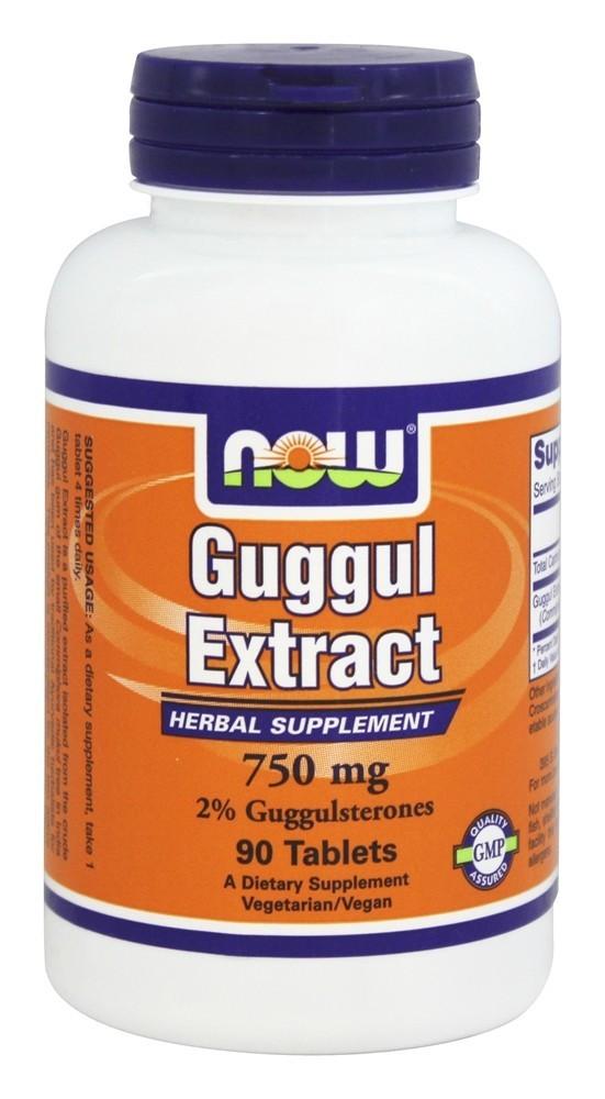 Борьба с ожирением - Гуггул экстракт (Guggul Extract), 750 мг 90 таблеток
