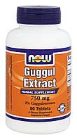 Борьба с ожирением - Гуггул экстракт (Guggul Extract), 750 мг 90 таблеток, фото 1