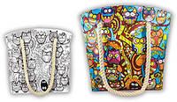 DankoToys Anti Stress Coloring Сумка COB-01-02 Совы Раскраска антистресс