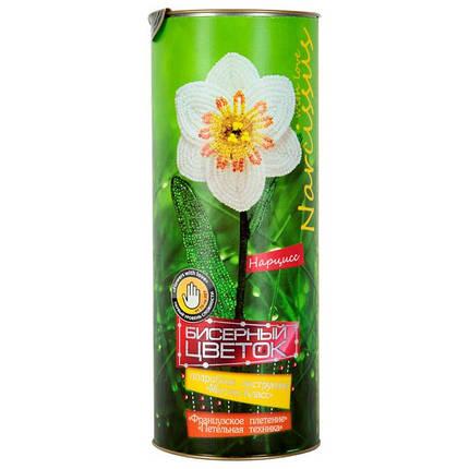 DankoToys Бисерный цветок БЦ-03 Нарцисс, фото 2