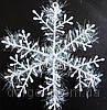 Снежинка,наклейка,низкие цены,27см