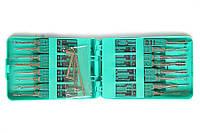 """Универсальный слесарный набор отмычек """"KLOM"""" - 32 штуки (в пластиковом корпусе)"""