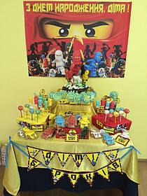 Кенди бар (Candy bar) в стиле Лего и Лего Ниньзяго