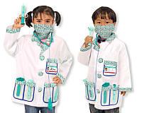 Детский карнавальный костюм доктора Melissa&Doug
