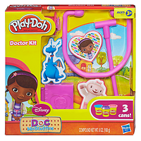 Пластилин плей до доктор плюшева Play-Doh Doctor Kit Featuring Doc McStuffins