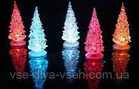 Новогодний LED светильник Елка на подставке(8*14,5)см