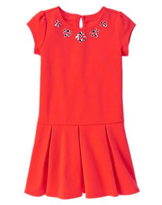 Платье с коротким рукавом для девочки 4-5-6 лет. Gymboree (США)
