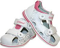 Детские кожаные босоножки для девочки Clibee Польша размеры 25-30