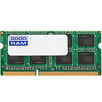Память SO-DIMM 8Gb, DDR3, 1333 MHz (PC3-10600), Goodram, 1.5V (GR1333S364L9/8G)