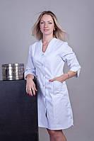 Халат медицинский женский большого размера коттон