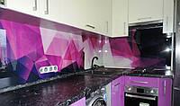Декоративна скляна панель для кухні на замовлення