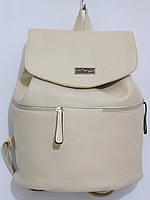 Рюкзак кож.зам крем, фото 1