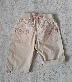 Бриджи-шорты для девочек 98,104,110,116,122 роста  Коралловый цветочек, фото 3