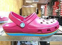 Женские  Crocs Duet Sport Clog New Pink 2