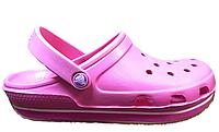 Женские Crocs Duet Sport Clog New Pure Pink
