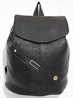 Рюкзак кож.зам классический черный, фото 1