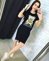 Платье с мишкой Moschino