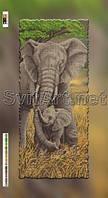Схемы для вышивки бисером на холсте Слоненок с мамой (29/60)