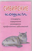 Сибирские кошки. Стандартные, содержание, разведение, профилактика заболеваний