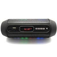 Портативная акустика блютуз Q600 с подсветкой Led