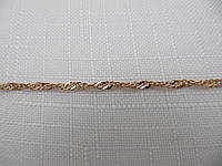 Золотая Цепочка 585* СИНГАПУР (10733), фото 1