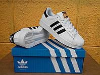 Кроссовки Adidas Superstar Supercolor Оригинал white/black/gold. Живое фото. Самовывоз