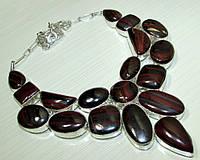 Колье, ожерелье из натурального ДЖЕСПИЛИТА