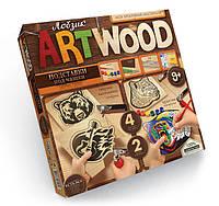 Danko Лобзик Art Wood Подставки под чашки (LBZ-01-06)