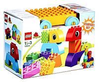 Конструктор Лего Веселая каталка с кубиками LEGO DUPLO