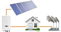 """Сетевая солнечная электростанция ESTAR 5S (5 кВт) однофазная с возможностью """"Зелёного тарифа"""""""