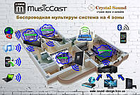 Yamaha MusicCAST комплект мультирум на 4 зоны