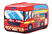 Игровая палатка Пожарная машина Bino