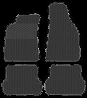 Резиновые ковры Хонда Пилот с 2006-  цвет: черный (производитель ZPV)